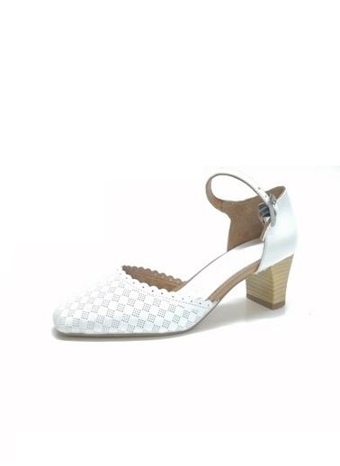 Ballerins Ayakkabı Beyaz